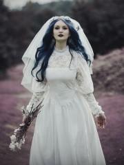 Белое викторианство (Insomnia Dress). Цена проката: 1800₽; эпоха: Викторианство; цвет: Белый; размер: 40-42