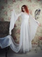 Офелия (Insomnia Dress). Цена проката: 1800₽; эпоха: Фэнтези; цвет: Белый;