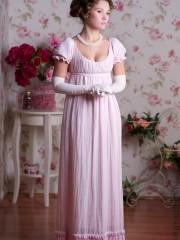 Розовый пион (Joyscat). эпоха: Ампир; цвет: Розовый;