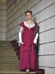 Мисс Бингли (Екатерина Андрейченко). Цена проката: 1500₽; эпоха: Ампир; цвет: Розовый; размер: 40-42