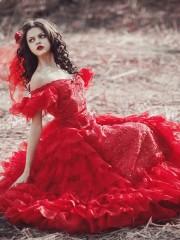 Изабель (Insomnia Dress). Цена проката: 2000₽; цвет: Красный;