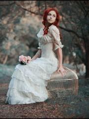 Белый гипюр (Insomnia Dress). Цена проката: 2000₽; цвет: Белый; размер: 40-42