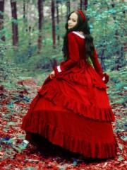 Белоснежка (Insomnia Dress). Цена проката: 2000₽; эпоха: Фэнтези; цвет: Красный; размер: 40-44